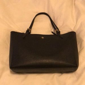 Tory Burch Navy York Tote - Large